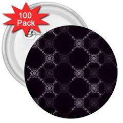 Abstract Seamless Pattern Background 3  Buttons (100 pack)