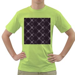 Abstract Seamless Pattern Background Green T-Shirt