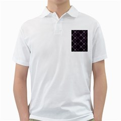 Abstract Seamless Pattern Background Golf Shirts