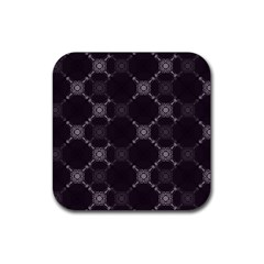 Abstract Seamless Pattern Background Rubber Square Coaster (4 pack)