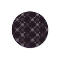 Abstract Seamless Pattern Background Magnet 3  (Round)