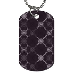 Abstract Seamless Pattern Background Dog Tag (Two Sides)