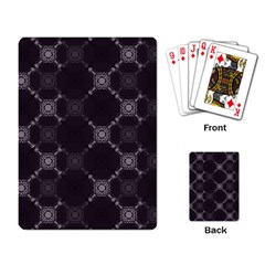 Abstract Seamless Pattern Background Playing Card