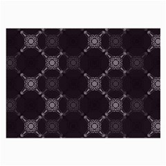 Abstract Seamless Pattern Background Large Glasses Cloth