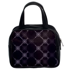 Abstract Seamless Pattern Background Classic Handbags (2 Sides)