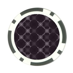 Abstract Seamless Pattern Background Poker Chip Card Guard (10 Pack)