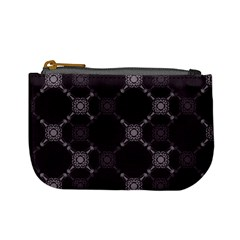 Abstract Seamless Pattern Background Mini Coin Purses