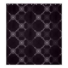 Abstract Seamless Pattern Background Shower Curtain 66  X 72  (large)