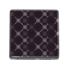 Abstract Seamless Pattern Background Memory Card Reader (Square)