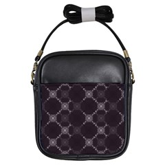 Abstract Seamless Pattern Background Girls Sling Bags