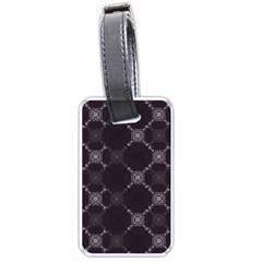 Abstract Seamless Pattern Background Luggage Tags (two Sides)