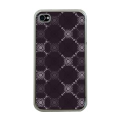 Abstract Seamless Pattern Background Apple Iphone 4 Case (clear)