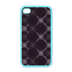 Abstract Seamless Pattern Background Apple Iphone 4 Case (color)