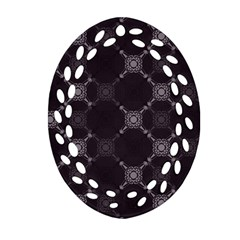 Abstract Seamless Pattern Background Ornament (Oval Filigree)