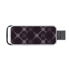 Abstract Seamless Pattern Background Portable Usb Flash (one Side)