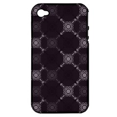 Abstract Seamless Pattern Background Apple iPhone 4/4S Hardshell Case (PC+Silicone)