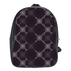 Abstract Seamless Pattern Background School Bags (xl)
