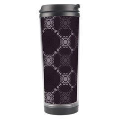 Abstract Seamless Pattern Background Travel Tumbler