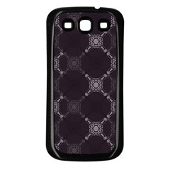 Abstract Seamless Pattern Background Samsung Galaxy S3 Back Case (black)