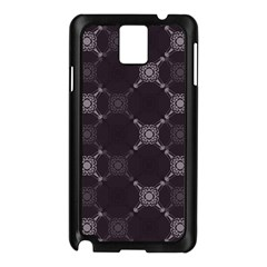 Abstract Seamless Pattern Background Samsung Galaxy Note 3 N9005 Case (Black)