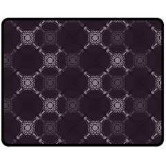 Abstract Seamless Pattern Background Double Sided Fleece Blanket (Medium)