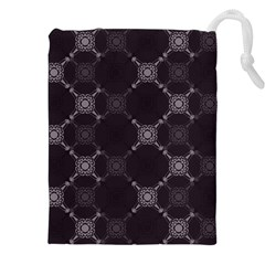 Abstract Seamless Pattern Background Drawstring Pouches (XXL)
