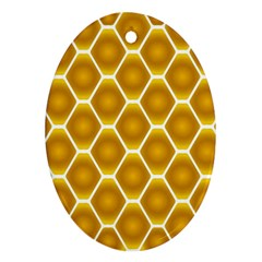 Snake Abstract Pattern Ornament (Oval)
