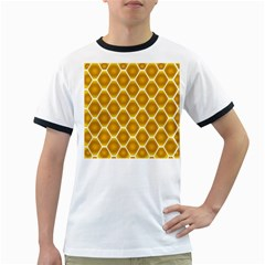 Snake Abstract Pattern Ringer T Shirts