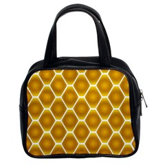 Snake Abstract Pattern Classic Handbags (2 Sides)