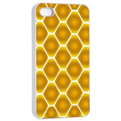 Snake Abstract Pattern Apple Iphone 4/4s Seamless Case (white)
