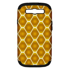 Snake Abstract Pattern Samsung Galaxy S III Hardshell Case (PC+Silicone)