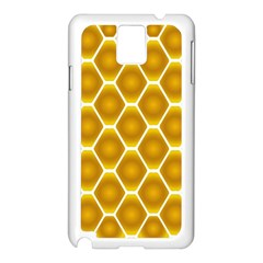 Snake Abstract Pattern Samsung Galaxy Note 3 N9005 Case (white)