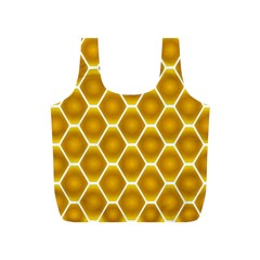Snake Abstract Pattern Full Print Recycle Bags (s)