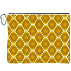 Snake Abstract Pattern Canvas Cosmetic Bag (xxxl)