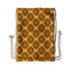 Snake Abstract Pattern Drawstring Bag (Small)
