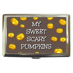 Hallowen My Sweet Scary Pumkins Cigarette Money Cases