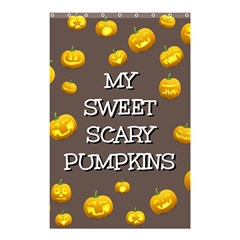 Hallowen My Sweet Scary Pumkins Shower Curtain 48  x 72  (Small)