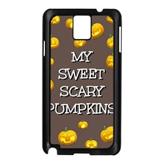 Hallowen My Sweet Scary Pumkins Samsung Galaxy Note 3 N9005 Case (black)
