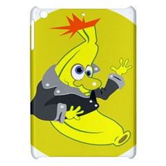 Funny Cartoon Punk Banana Illustration Apple iPad Mini Hardshell Case
