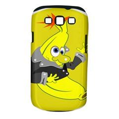 Funny Cartoon Punk Banana Illustration Samsung Galaxy S III Classic Hardshell Case (PC+Silicone)