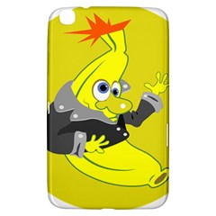 Funny Cartoon Punk Banana Illustration Samsung Galaxy Tab 3 (8 ) T3100 Hardshell Case