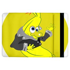 Funny Cartoon Punk Banana Illustration iPad Air Flip