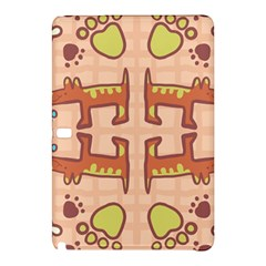 Pet Dog Design  Tileable Doodle Dog Art Samsung Galaxy Tab Pro 10 1 Hardshell Case