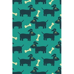 Happy Dogs Animals Pattern 5.5  x 8.5  Notebooks