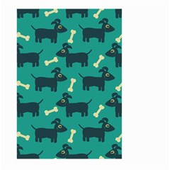 Happy Dogs Animals Pattern Large Garden Flag (two Sides)