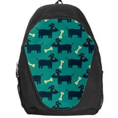 Happy Dogs Animals Pattern Backpack Bag