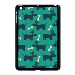 Happy Dogs Animals Pattern Apple iPad Mini Case (Black)