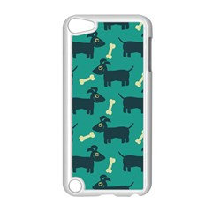 Happy Dogs Animals Pattern Apple Ipod Touch 5 Case (white)