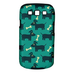 Happy Dogs Animals Pattern Samsung Galaxy S Iii Classic Hardshell Case (pc+silicone)
