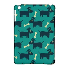 Happy Dogs Animals Pattern Apple Ipad Mini Hardshell Case (compatible With Smart Cover)